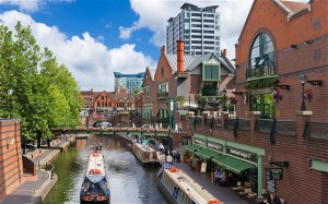 Birmingham has more miles of canals than Venice, Image credit: telegraph.co.uk
