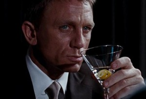 Are you ready to be shaken not stirred? Image credit: dailymail.co.uk
