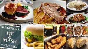 Gastro pub food vs. pub grub, Image credit: bbc.co.uk