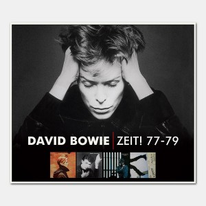 "Low (1977), ""Heroes"" (1977), Stage (1978) and Lodger (1979) albums together; Image credit: davidbowie.com"