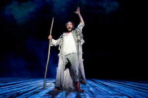Ralph Finnes as Prospero in The Tempest; Image credit: thesundaytimes.co.uk