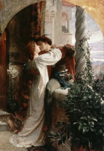 Rome and Juliet - characters from an Italian tale; Image credit: histroryandwomen.com