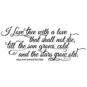 Shakespeare in LOVE; Image credit: lifequotes.asia