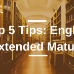 Top 5 Tips: English Extended Matura