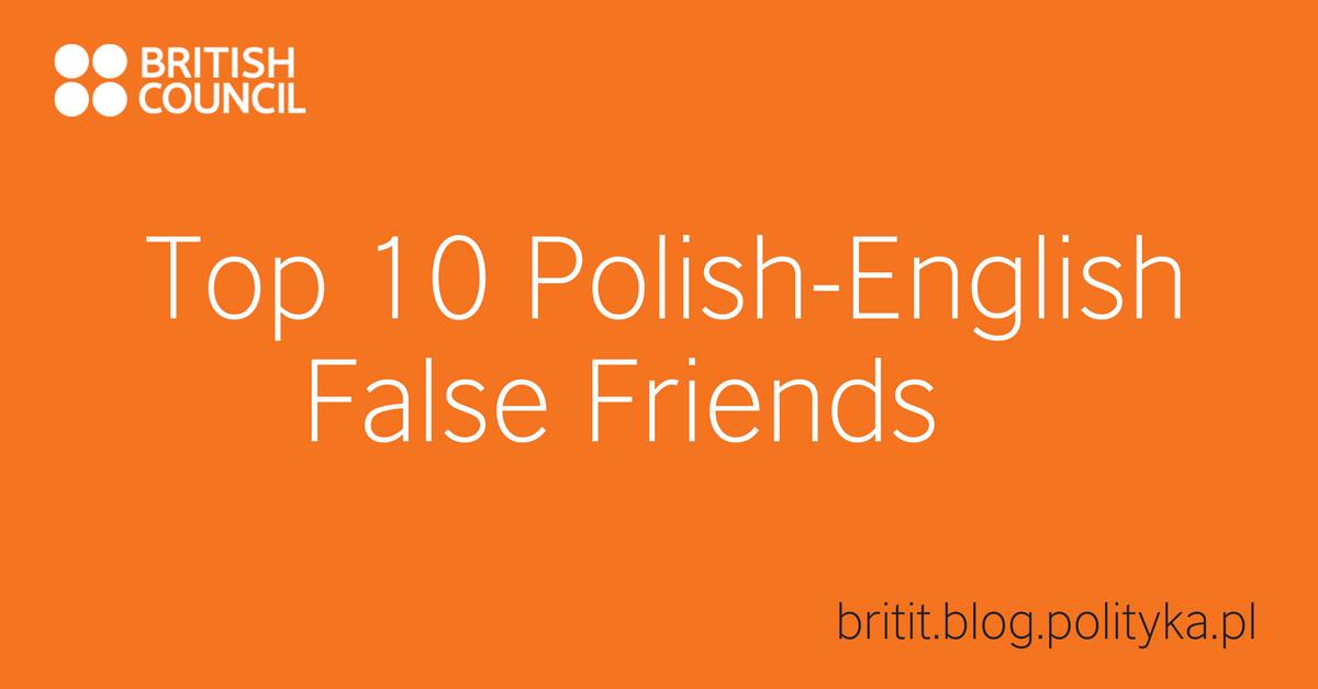 POLISH ENGLISH